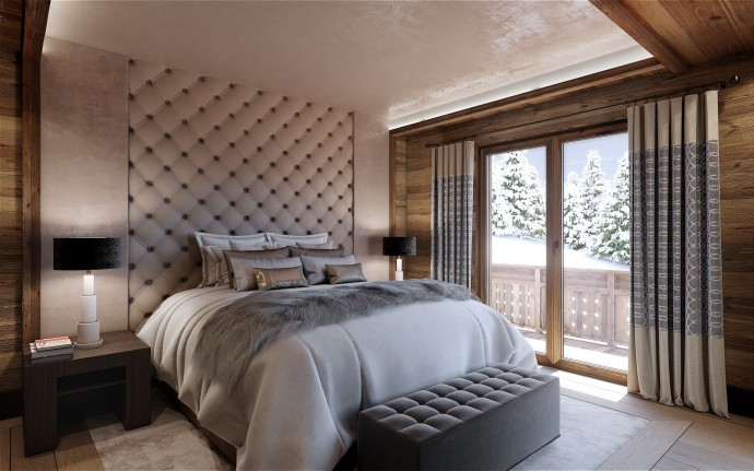 Bedroom Chalet 2 Ultima Crans-Montana