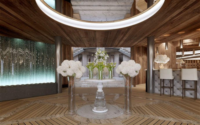 Reception Spa Ultima Crans-Montana