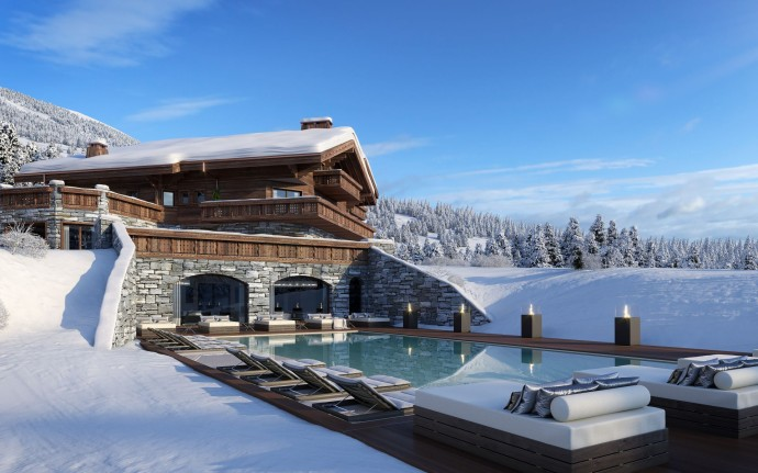 Ultima Crans-Montana Chalets, Spa & Clinic Exterior View 3