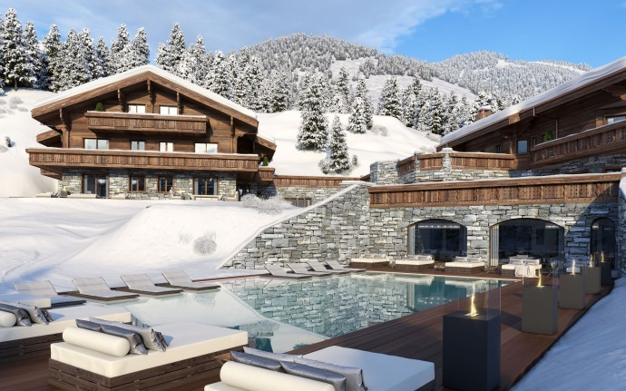 Ultima Crans-Montana Chalets, Spa & Clinic Exterior View 5