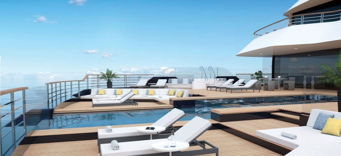 Aft Main Pool Deck