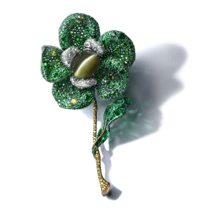 [Image] CINDY CHAO The Art Jewel Greenovia Brooch