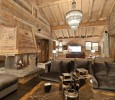Chalet Maria Courchevel wood interior