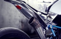 BMW concept roadster moto pipe