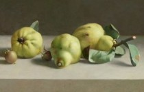 Galerie ArtVera's Geneve 20_Henk Helmantel, Quinces and medlars, 2012, oil on panel, 43 x 55 cm