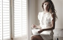 Behind the scenes Reverso by Christian Louboutin film - dress Giambattista Valli Resort ∏ Roch Armando