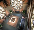 the clocktower penthouse clock
