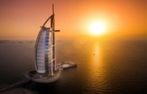Burj Al Arab - Terrace - Aeria - Sunset - 2