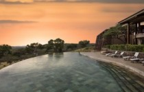 Melia Serengeti Lodge-Pool_Sunset