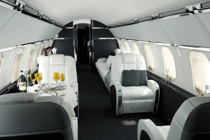 Versace Airbus A319 Corporate Jet