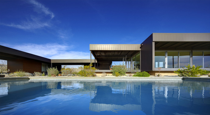 Villa design Hot Springs Desert House