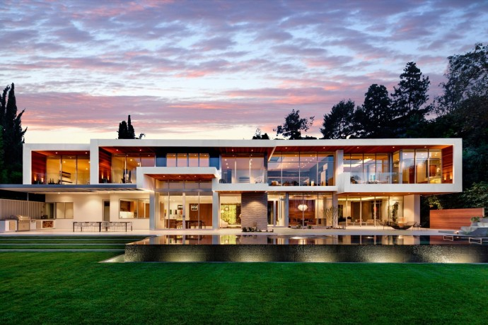 Villa design Sunset Plaza Residence LA