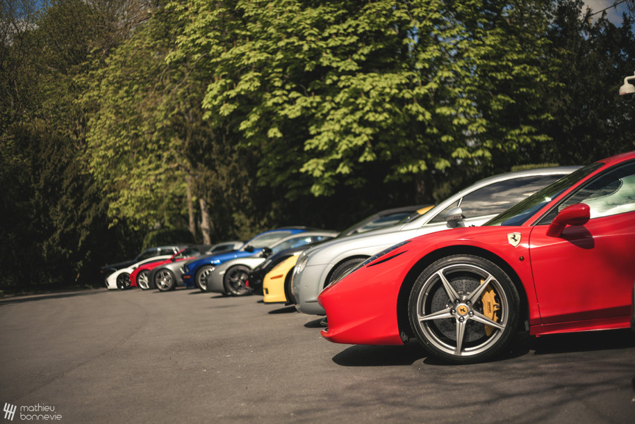 Cars club line up