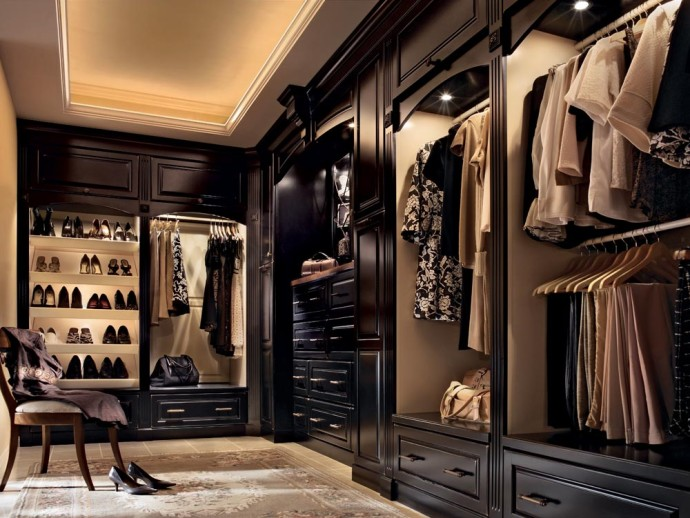 Closet black and Brown - Bestof Luxury Pictures July 2014