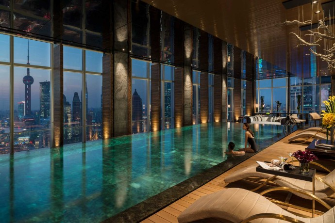 Four Seasons Hotel Pudong China - Bestof Luxury pictures july 2014