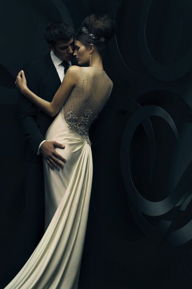 Wedding Gown Trend The Embellished Back