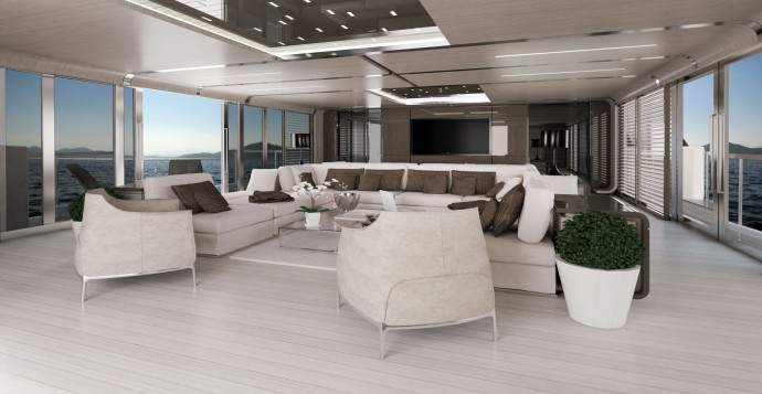 Zuccon Yacht design ZSYD 55 FEBO Living intérieur yacht