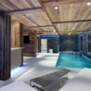 Le collectionist Chalet Eden swimming-pool