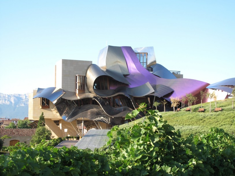 Marques de Riscal frank gehry archotecture