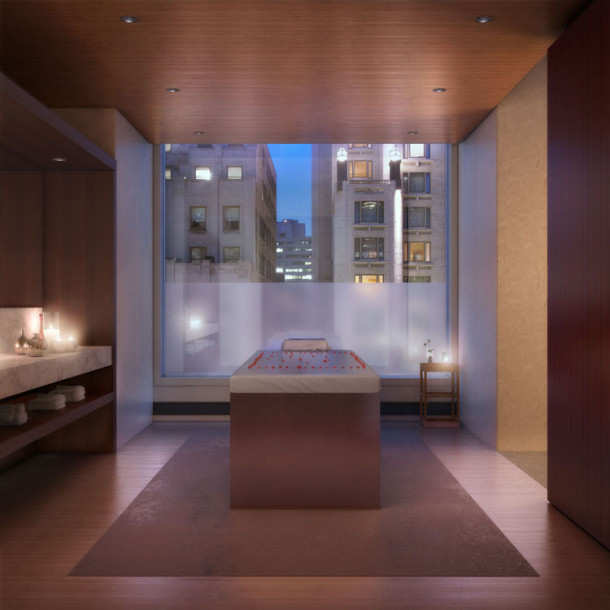 432 Park avenue appartement new york Massage Therapy Room