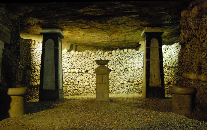 Piliers Catacombes Paris