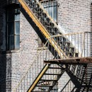 Voyage New York High Line escalier Thomas Van Geete