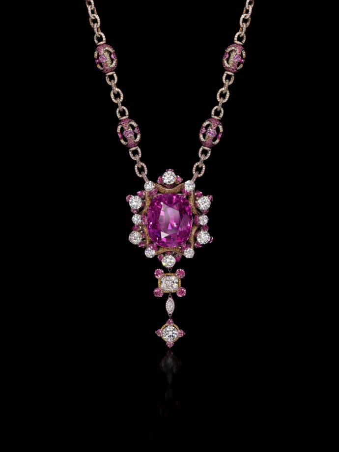 Wallace Chan Necklace_Gabriella Rose by Wallace Chan