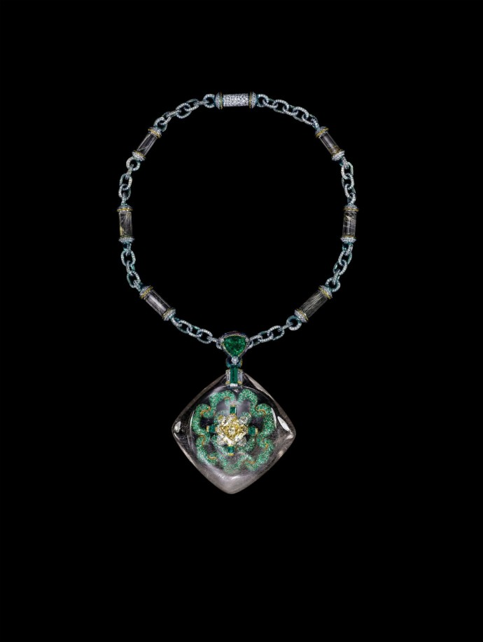 Wallace Chan Necklace_Secret Abyss by Wallace Chan_Front