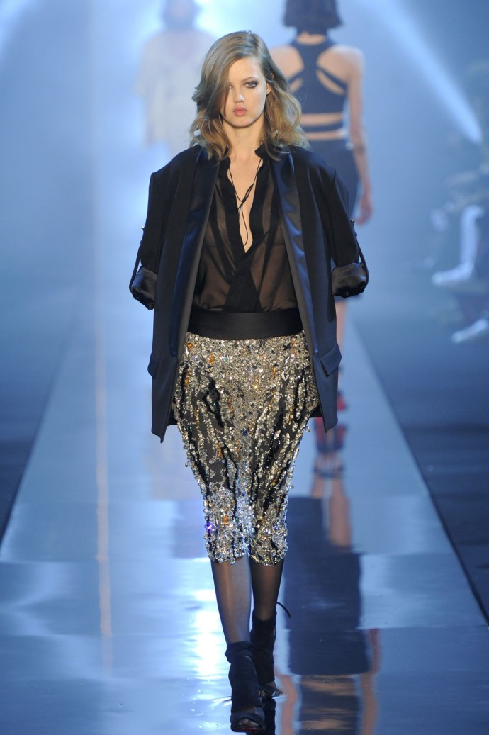 Alexandre Vauthier Swarovski Fashion Week 4