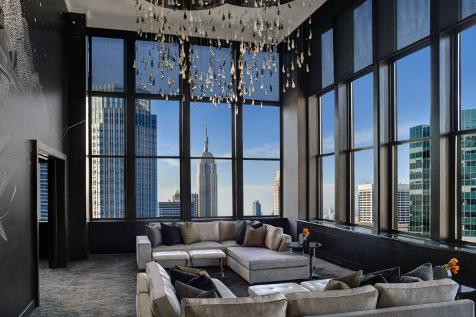 Dom Pérignon Hotel Suite At The New York Palace