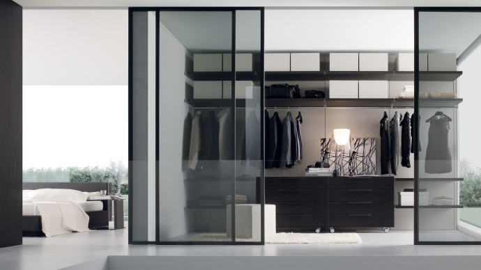 Dressing verre design