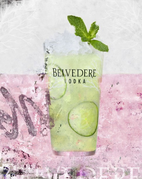 Belvedere Cocktail 2015 - Fresh Garden (ambiance)