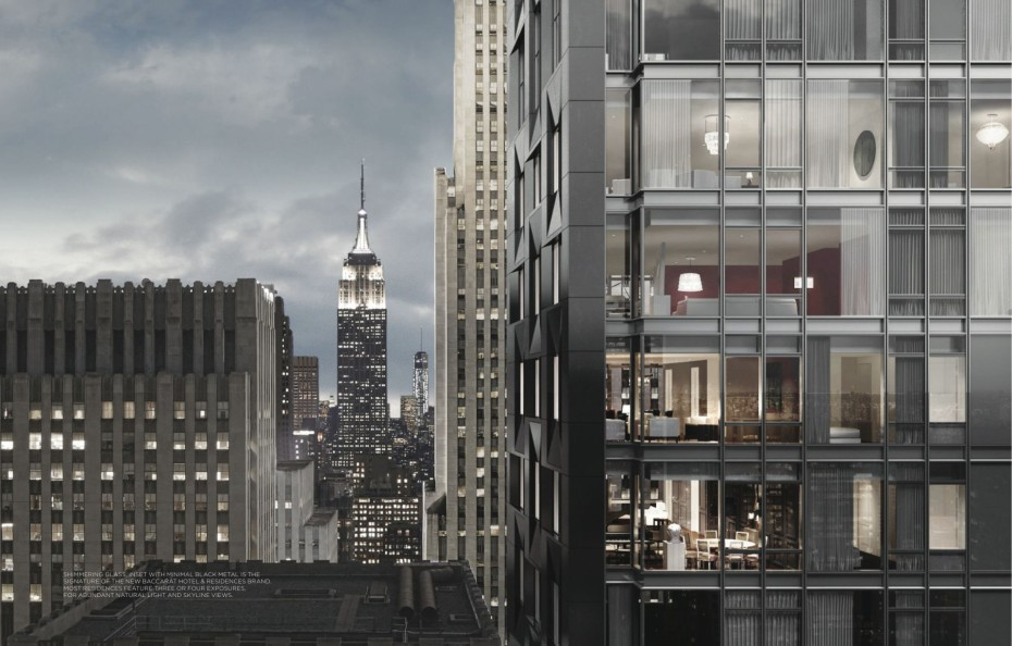 Baccarat Hotel & Residences New York extérieur
