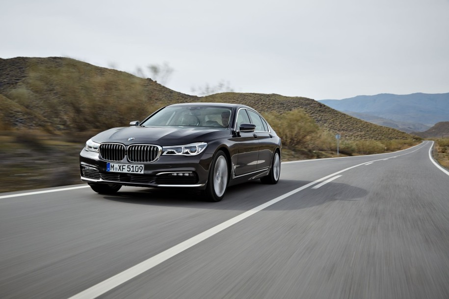 new BMW 7 Series route