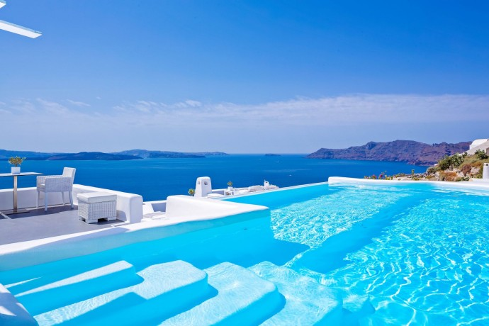 Piscine Canaves Oia Hotel & Suites - Grece