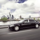 Mercedes-Maybach S 600 Guard route