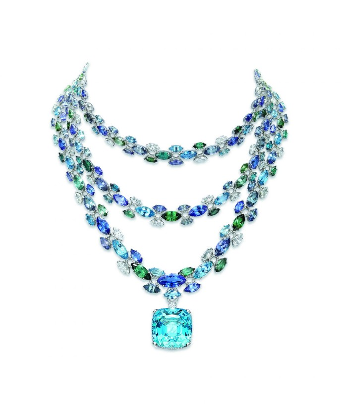 Tiffany Blue book collier couleurs--rs