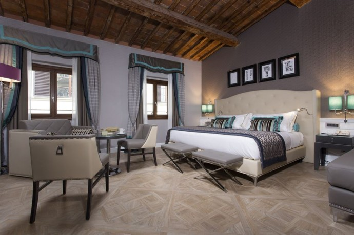 top suite Hotel Spadai Italie photo Ceramica Sant'Agostino