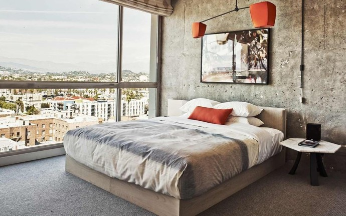 top suite The Line Hotel Los Angeles Photo Adrien Gaut